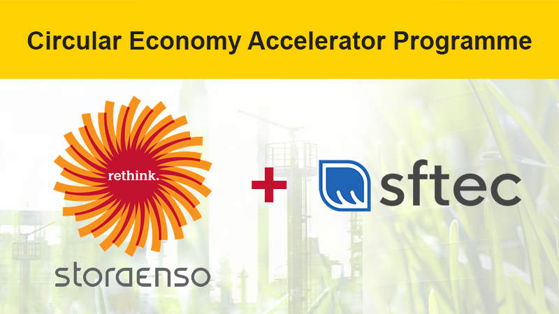 SFTec selected for Stora Enso Accelerator Programme!